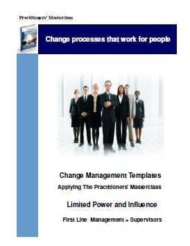 change management templates,practitioners masterclass,change management training,change managers,change management